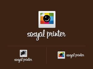 Sosyal printer logo yeni 2