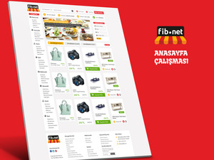 Proje#26205 - e-ticaret / Dijital Platform / Blog Web sitesi tasarımı (psd)  #6