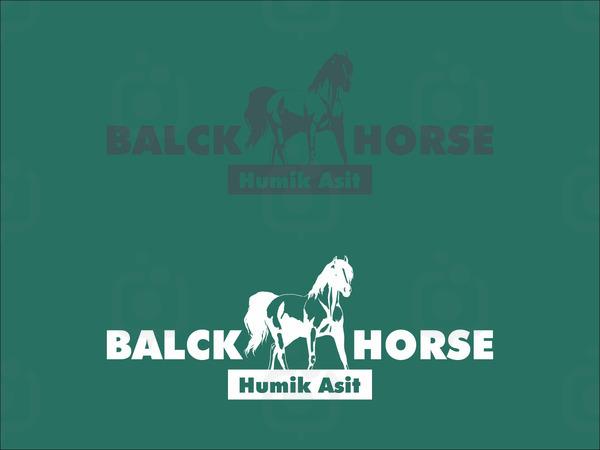 Black horse1