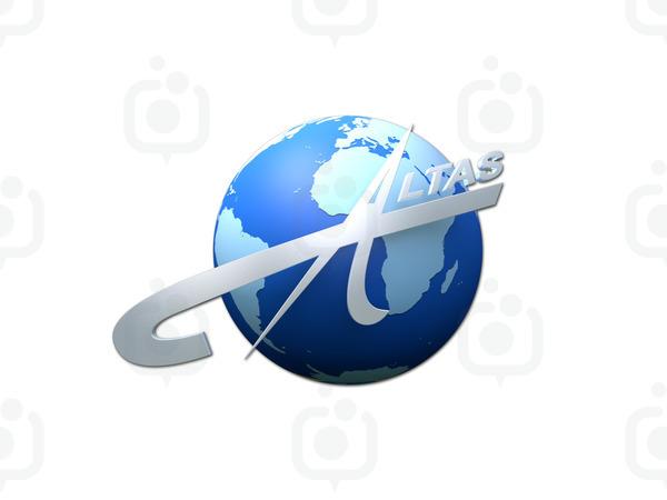 Altas 3d logo 1