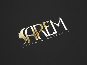 Gold stamping logo mock up