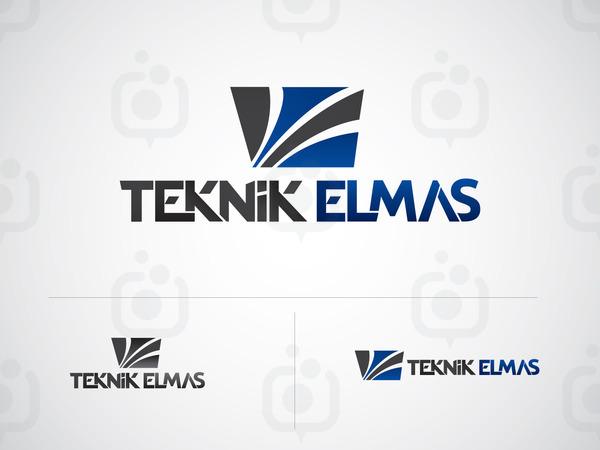 Teknik elmas logo 2