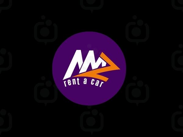 Mmz rent a car logo 2