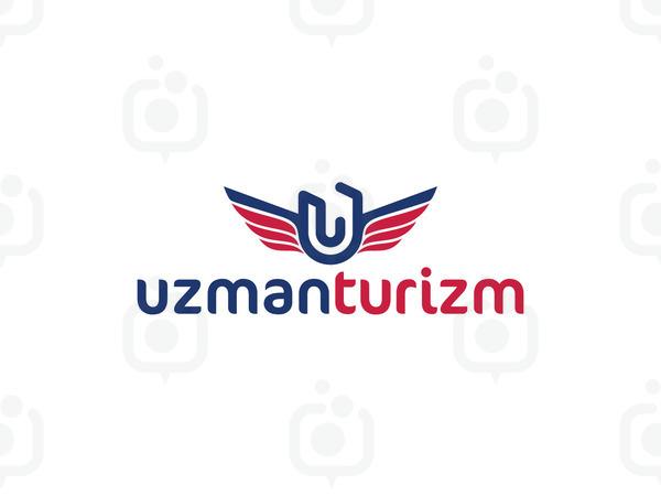 Uzman turizm logo