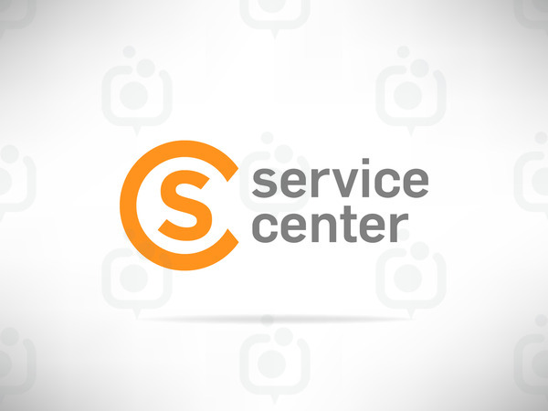 Service center logo 01