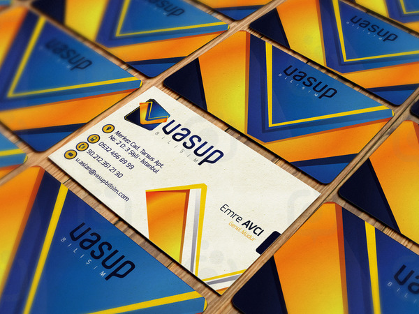 Business card mock up vol4