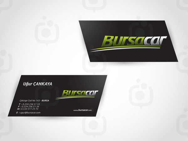 Bursacar rent car logo 3