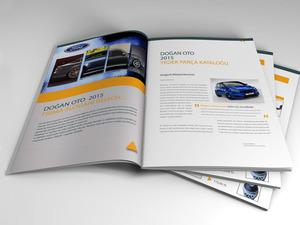 Proje#28319 - Otomotiv / Akaryakıt Katalog Tasarımı  #27