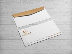 Zirve Logo Zarf Tasarımı