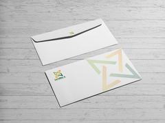 Sinerji Logo Zarf Tasarımı