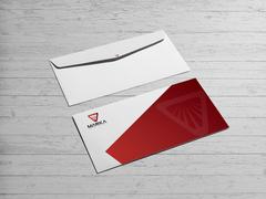 Güçlü Logo Zarf Tasarımı