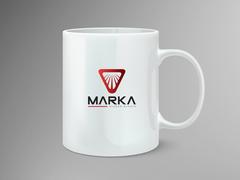 Güçlü Logo Mug Tasarımı