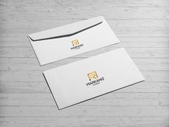 R ve A logo Zarf Tasarımı
