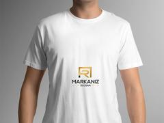 R ve A logo T-shirt Tasarımı