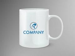 R Logo Mug Tasarımı