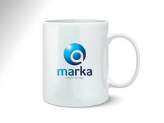 Harfli Logo Mug Tasarımı