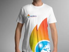 Dünya Alev T-shirt Tasarımı