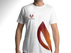 V Logo T-shirt Tasarımı