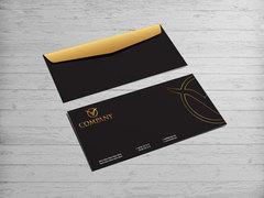 Kartal Logo Zarf Tasarımı