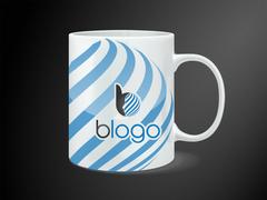 B Logo Mug Tasarımı