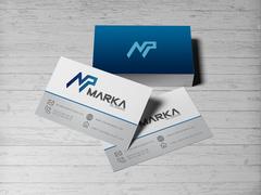 N ve P Logo Kartvizit Tasarımı