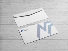 N ve P Logo Zarf Tasarımı