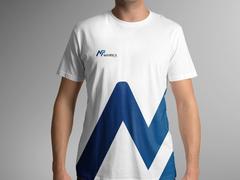 N ve P Logo T-shirt Tasarımı