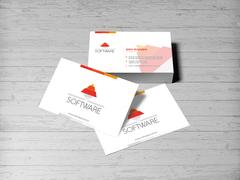 Piramit Logo Kartvizit Tasarımı