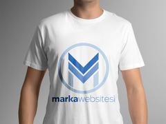M Logo T-shirt Tasarımı