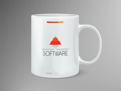 Piramit Logo Mug Tasarımı