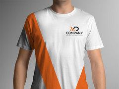 D ve M Logo T-shirt Tasarımı