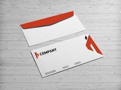 İ Logo Zarf Tasarımı