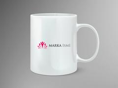 Çiçek Logo Mug Tasarımı