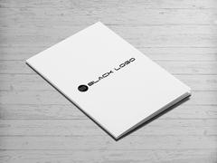 Black Logo Dosya Tasarımı