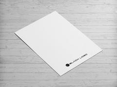 Black Logo Antentli K. Tasarımı