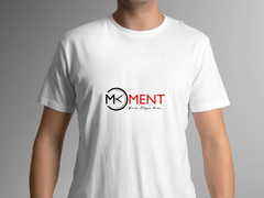 Moment Logo T-shirt Tasarımı