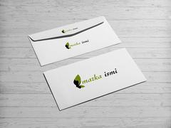 Doğal Logo Zarf Tasarımı