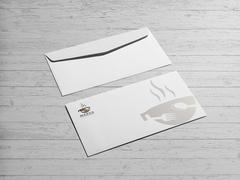 Bardak Logo Zarf Tasarımı