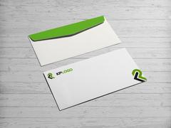 K ve P Logo Zarf Tasarımı