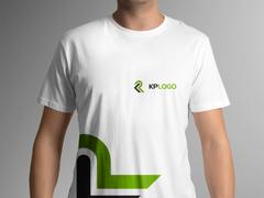 K ve P Logo T-shirt Tasarımı