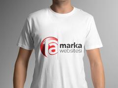 T A Logo T-shirt Tasarımı