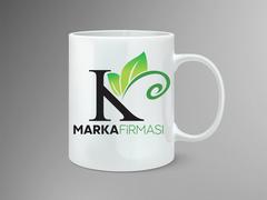 Yaprak logo Mug Tasarımı