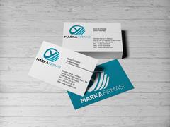 Y Harfli Marka Logosu Kartvizit Tasarımı
