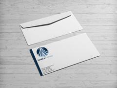 Dairesel Logo Zarf Tasarımı