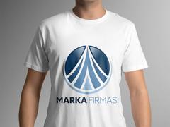 Dairesel Logo T-shirt Tasarımı