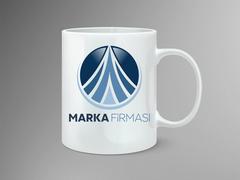 Dairesel Logo Mug Tasarımı