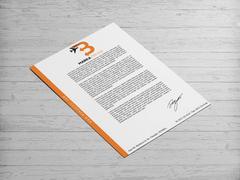 B Harfli Oklu Logo Antentli K. Tasarımı