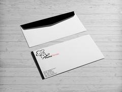 Aşçı Maskotlu Zarf Tasarımı