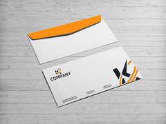 K Logo Zarf Tasarımı