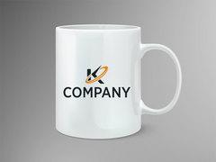 K Logo Mug Tasarımı